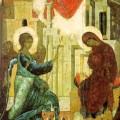 Благовещение Пресвятой Богородицы и Великая Суббота
