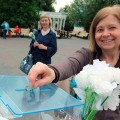 В Челябинске прошла епархиальная благотворительная акция «Белый цветок»