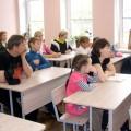 В воскресной школе Свято-Георгиевского храма прошло родительское собрание