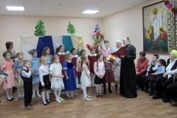 В воскресной школе Свято-Георгиевского храма прошёл детский Рождественский праздник