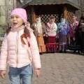 В Свято-Георгиевском храме поздравили ветеранов с Днем Победы и провели выставку «Вечно живые»