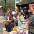 В праздник Пресвятой Троицы в Свято-Георгиевском храме провели ярмарку-выставку с чаепитием