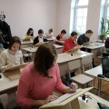 В Свято-Георгиевском храме детей воскресной школы наградили за успехи в каллиграфии