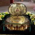 В Свято-Георгиевском храме побывала частица мощей святителя Луки, архиепископа Симферопольского и Крымского