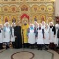 В Свято-Георгиевском храме прошло Посвящение в сёстры милосердия