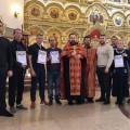 Свято-Георгиевцы в День трезвости провели выставку литературы и помолились об исцелении страждущих