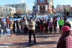 В приходе Cвято-Георгиевского храма прошёл детский праздник в честь Дня народного единства