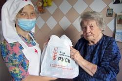 Социальный отдел Челябинской епархии раздал инвалидам, малоимущим и многодетным 186 продуктовых наборов