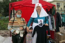 В Свято-Георгиевском храме провели традиционную акцию «Соберём детей в школу»