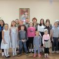 В приходе Свято-Георгиевского храма в канун Рождества Богородицы открылась детская воскресная школа