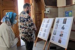 В Свято-Георгиевском храме провели необычную выставку
