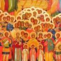 День всех святых – день тезоименитства всех христиан.  «Вы – храм Божий»… «Все святые, молите Бога о нас!»