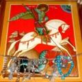 Освящение первого храма святого Георгия Победоносца на Руси в городе Киеве